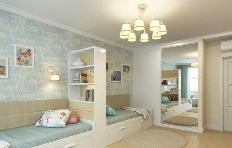 Дизайн детской комнаты для разнополых детей (52 фото) 9