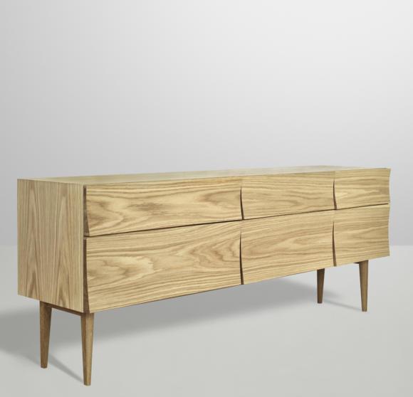 мебель из натуральной древесины дуба комод фото
