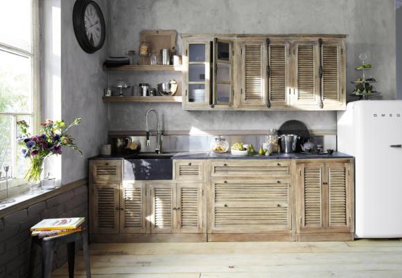 мебель из натуральных материалов манговое дерево кухня фото