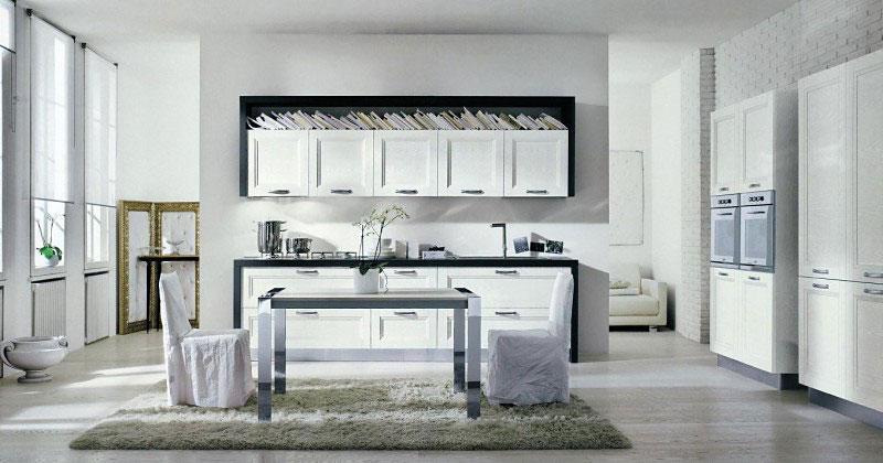белая кухня в современном стиле фото