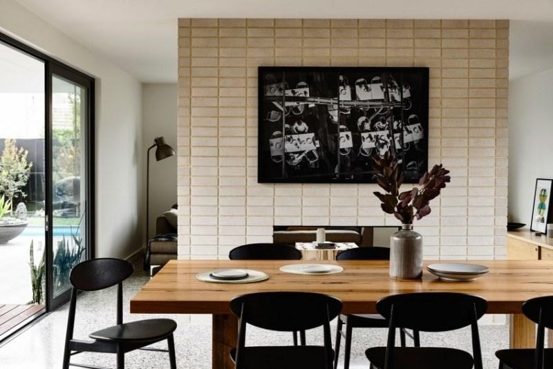 дизайн интерьера кухни столовой гостиной фото