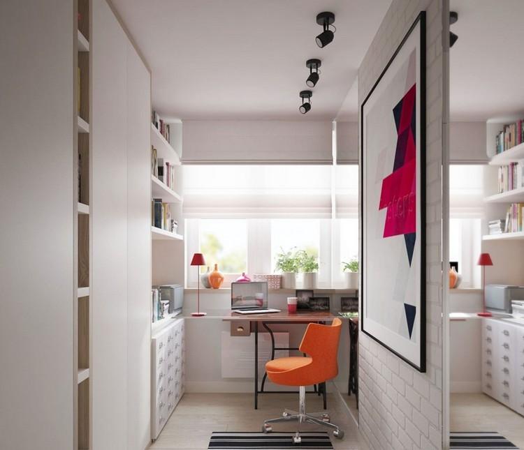 дизайн кабинета рабочей комнаты дома фото
