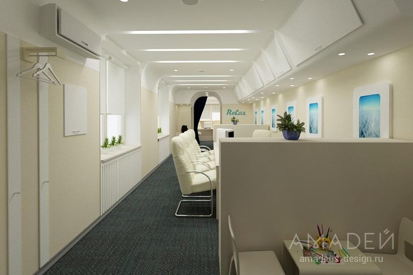 дизайн офисного помещение фото туристическая фирма