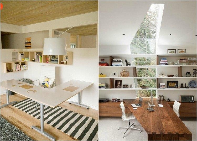 дизайн рабочего кабинета фото в квартире в доме