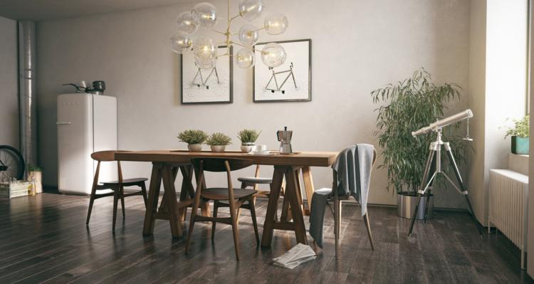 интерьер дизайн столовой фото обеденная зона современный стиль