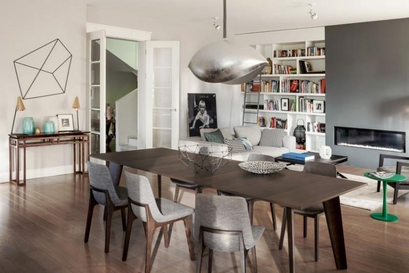 интерьер зал столовая фото совеременный дизайн скандинавский стиль