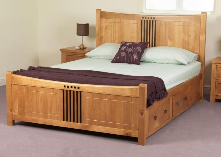 кровать с двумя ящиками фото идеи для маленькой спальни