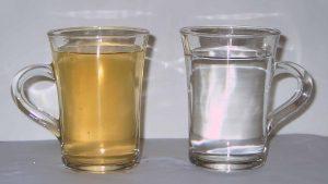 ржавая вода из скважины с железом