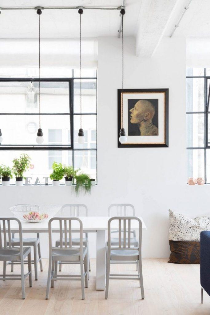 современный дизайн обеденной зоны фото