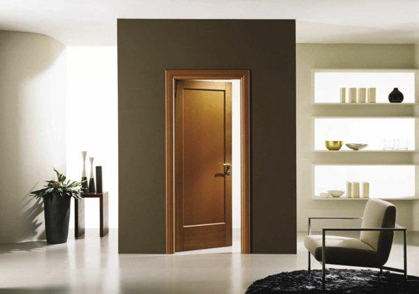 цвет межкомнатная дверь в интерьере фото