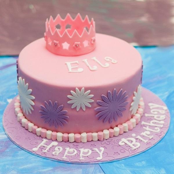 декор оформление детского праздника фото принцесса торт