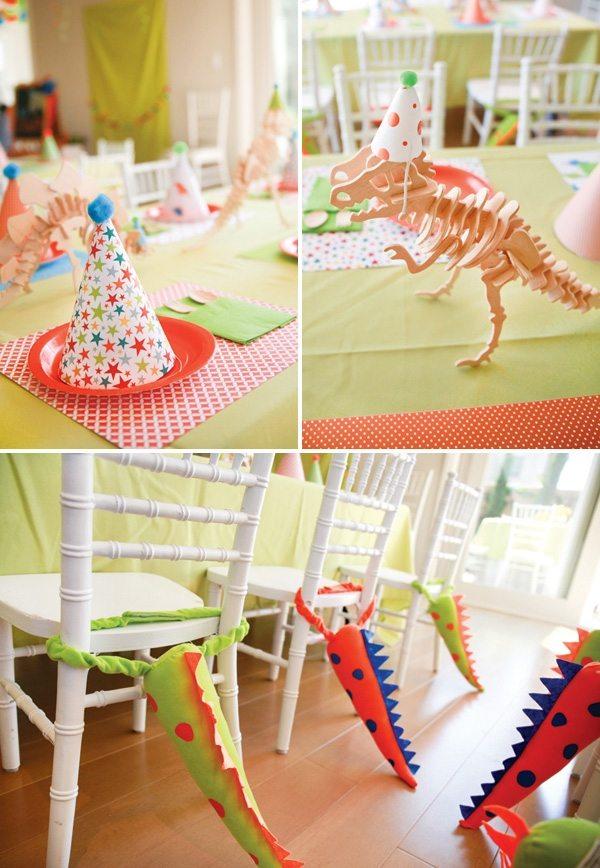 декор оформление детского праздника фото в стиле динозавры украшения идея