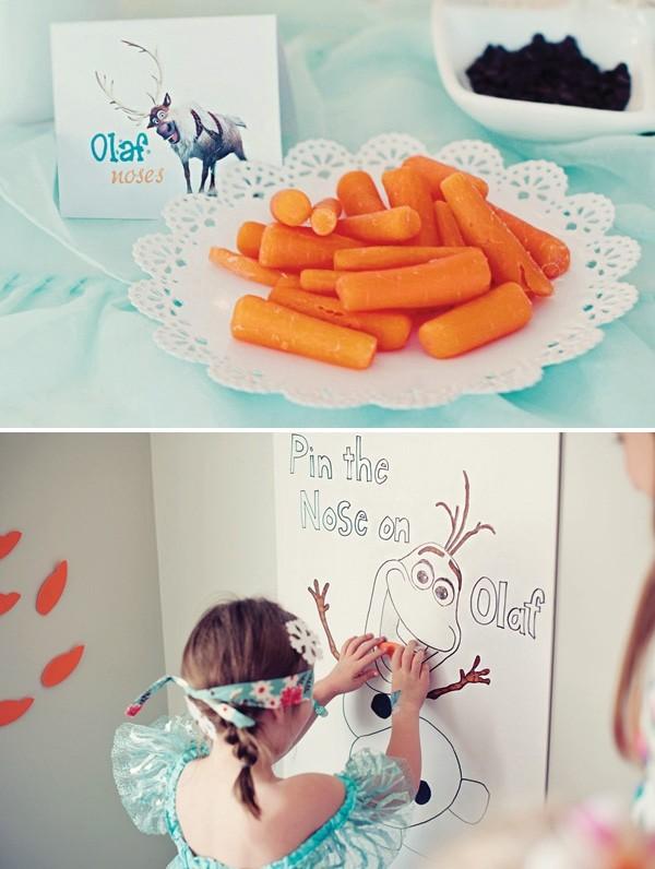 декор оформление детского праздника фото в стиле холодное сердце идеи игр