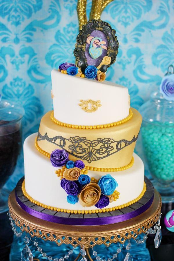 декор оформление детского праздника фото в стиле принцесса девочка торт