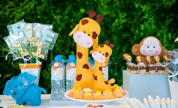 декор оформление детского праздника фото зоопарк животные