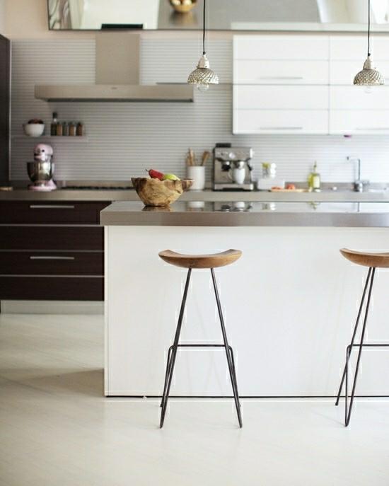 деревянные барные стулья фото из дерева минимализм