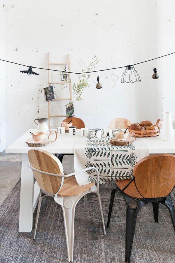 деревянные обеденные стулья фото