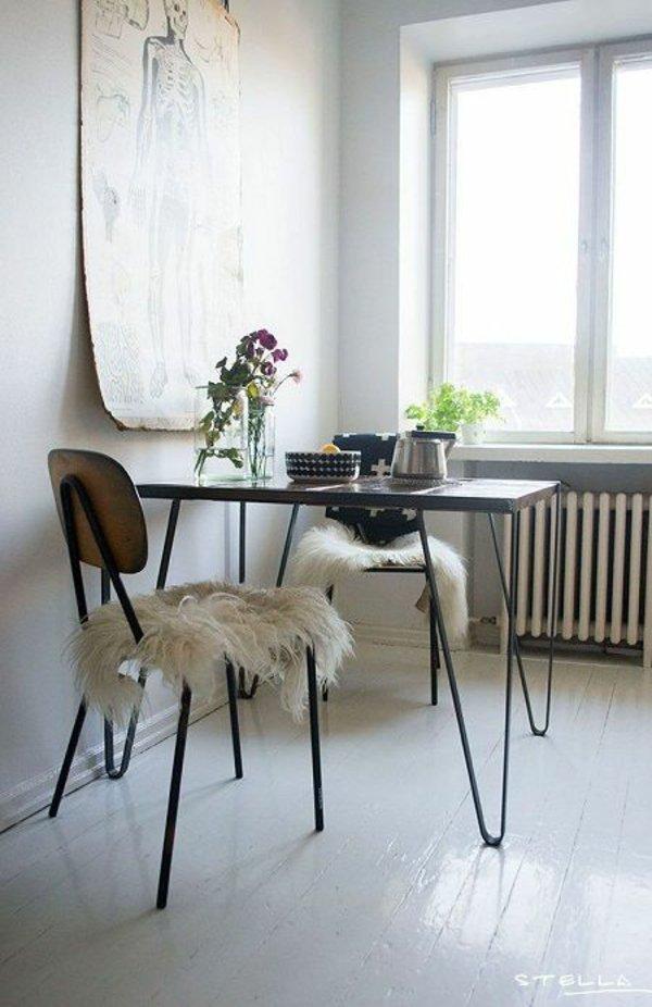 деревянные простые современные стулья для кухни фото