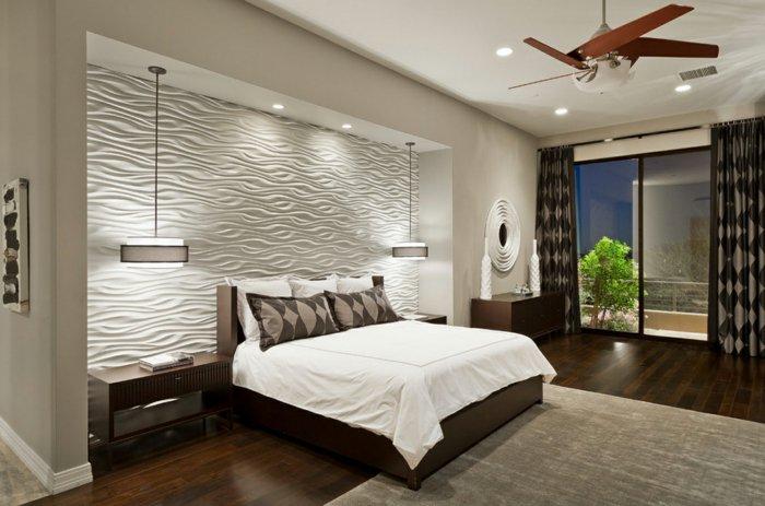 дизайн освещения в спальне в интерьере точечное непрямое фото