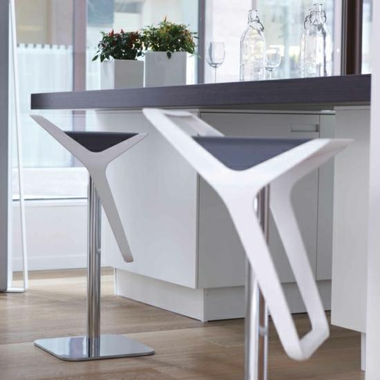 дизайнерские барные стулья для кухни фото