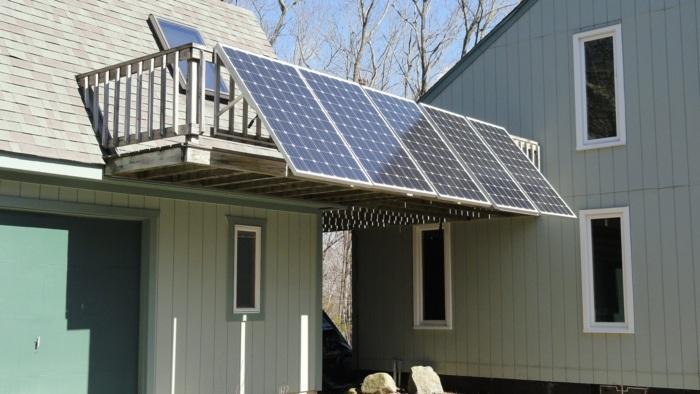 домашние солнечная батарея