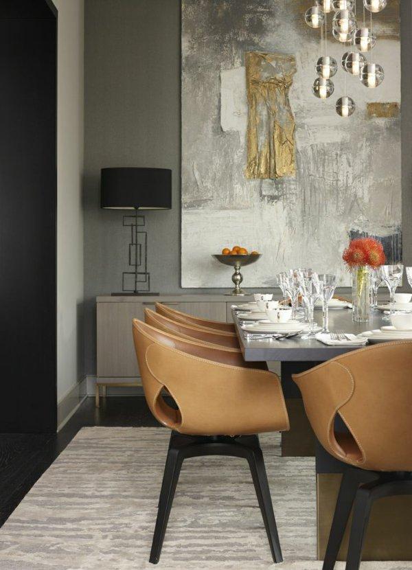 кожаные кресла стулья обеденные для кухни фото
