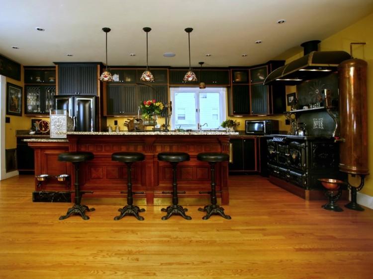 кухня стимпанк детали фото декор интерьер дома