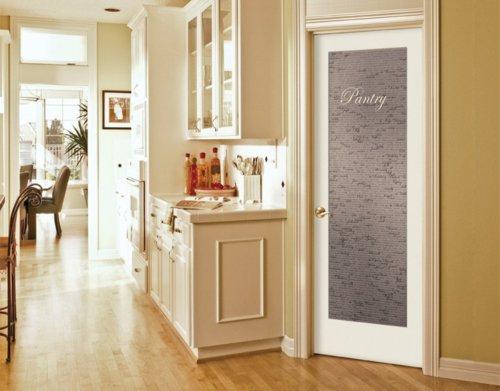межкомнатная дверь белая матовое стекло фото