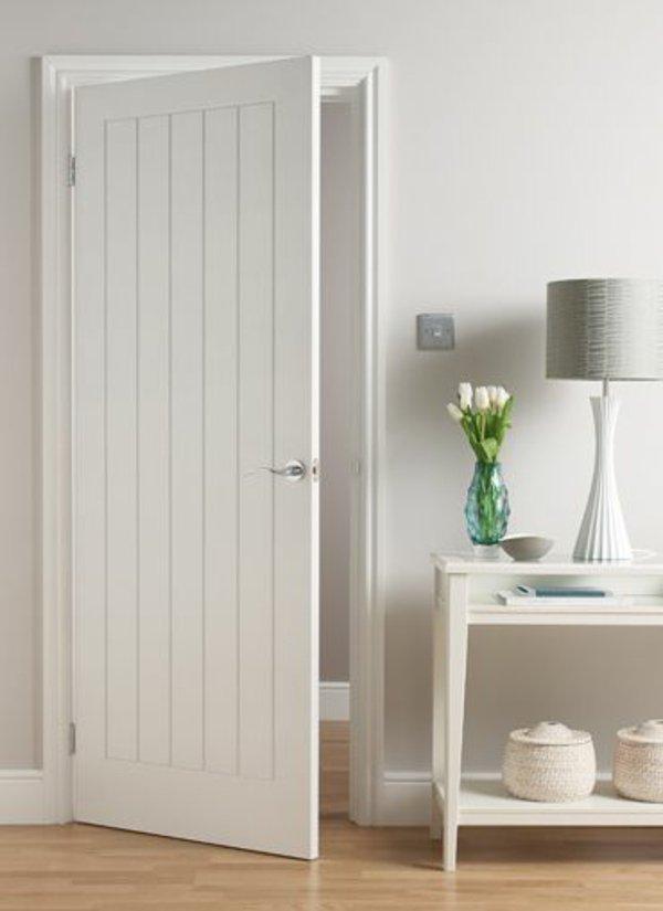 межкомнатная дверь прованс фото белая