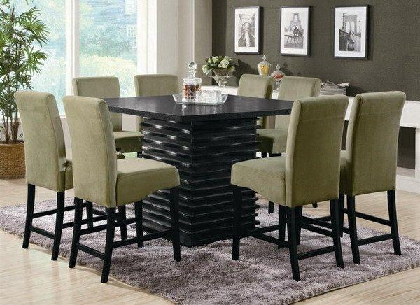 мягкие традиционные классические обеденные стулья для кухни фото