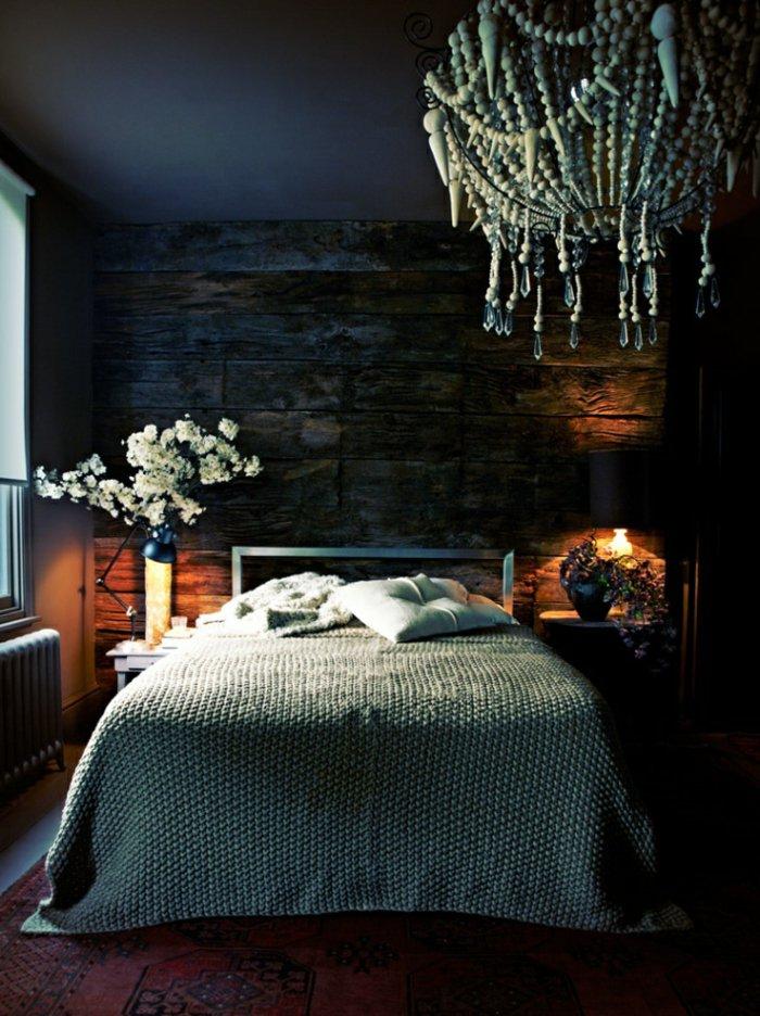 необычный дизайн освещения спальни фото интерьер
