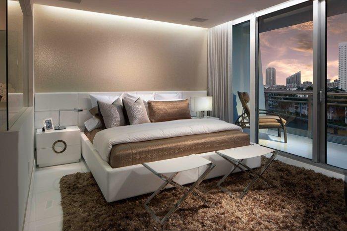 непрямое освещение в спальне дизайн фото интерьер