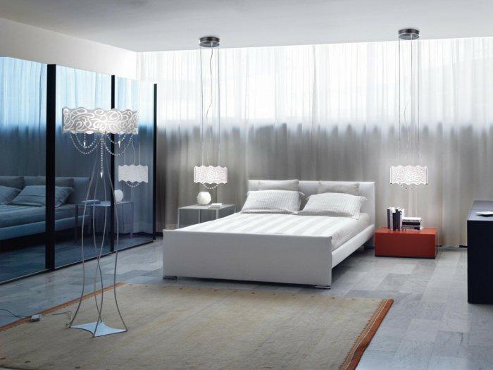 освещение спальни фото интерьер
