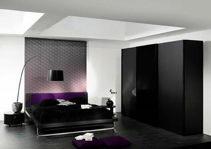 освещение спальни фото современный интерьер
