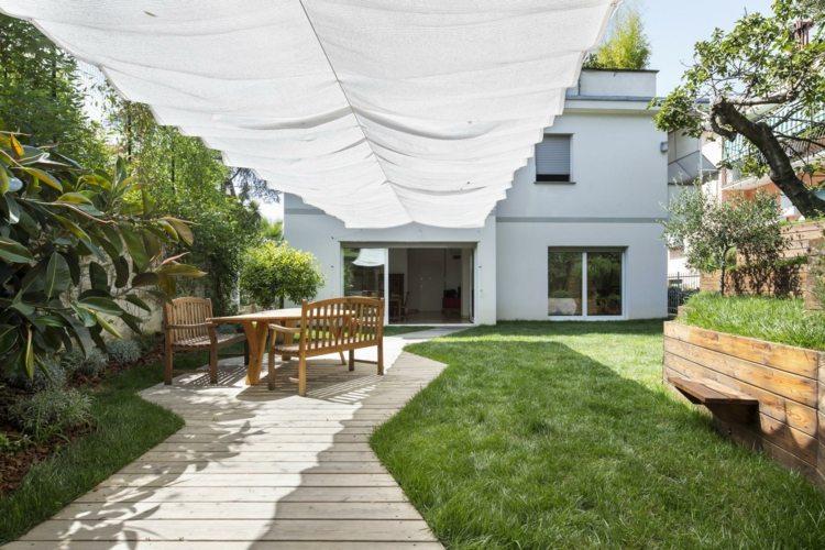 открытая терраса пристроенная к дому дизайн фото
