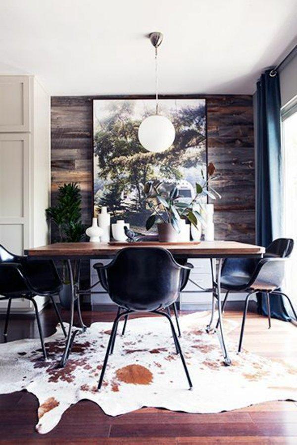пластиковые обеденные стулья для кухни фото черные