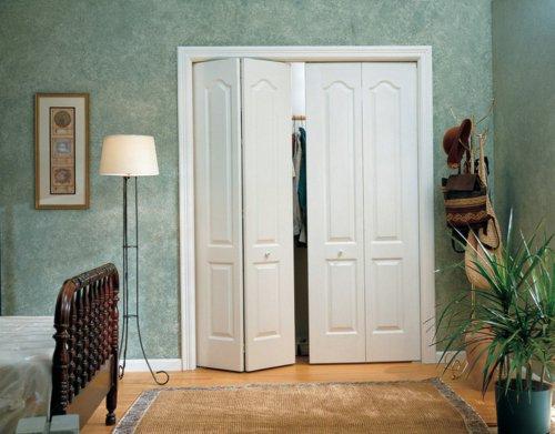 складные межкомнатная дверь фото