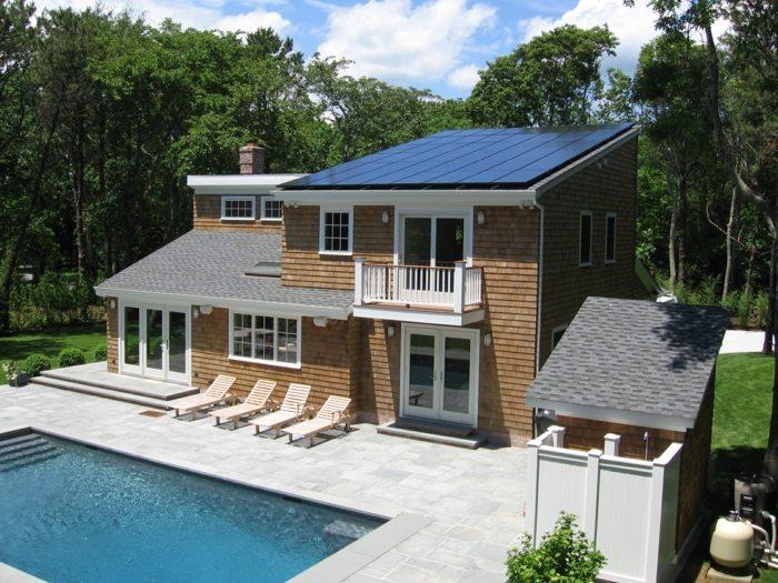 солнечная батарея в частном доме
