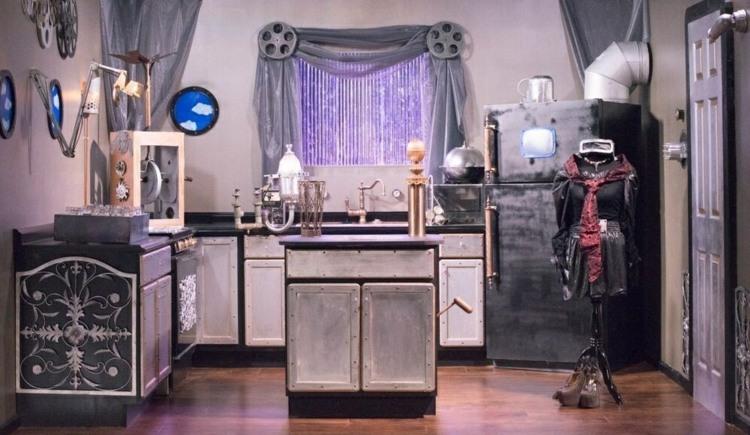 стиль стимпанк кухня фото декор детали