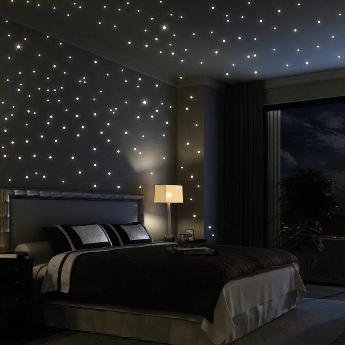 звездное небо в спальне фото
