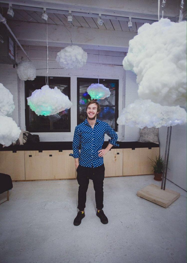 diy облако лампа своими руками небо инструкция пошагово