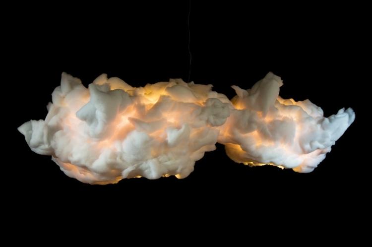 diy облако лампа своими руками желтая вытянутая форма