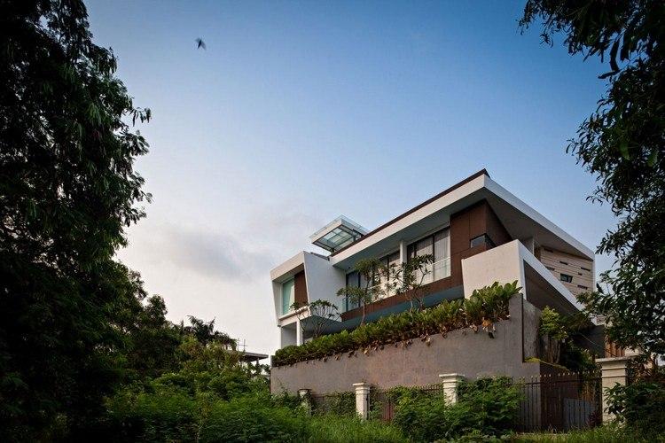 дом премиум класса дизайн фото задний двор терраса