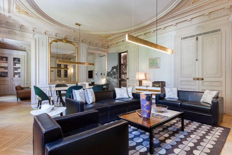 гостиная в стиле барокко современное фото элементы