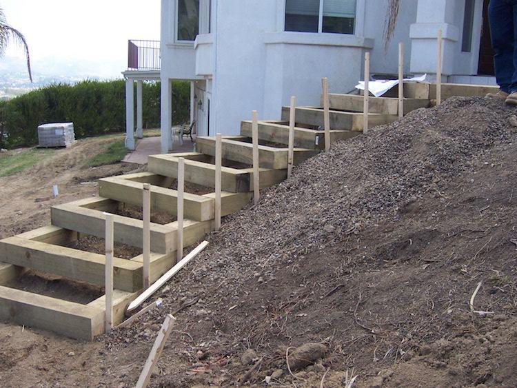 идея садовой деревянной лестницы своими руками пошаговая инструкция