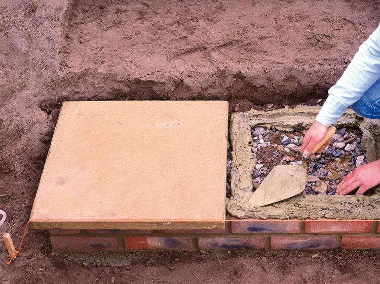 идея садовой лестницы своими руками инструкция пошагово укладка плит