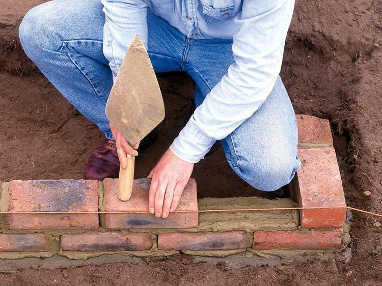 идея садовой лестницы своими руками пошаговая инструкция укладка клинкерного кирпича