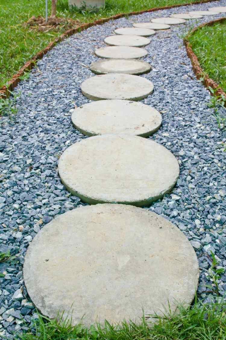 как сделать фигуры для сада своими руками фото мастер класс садовая дорожка бетон цемен