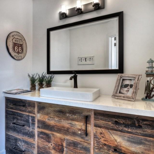 комната ванная ретро стиль фото современный микс