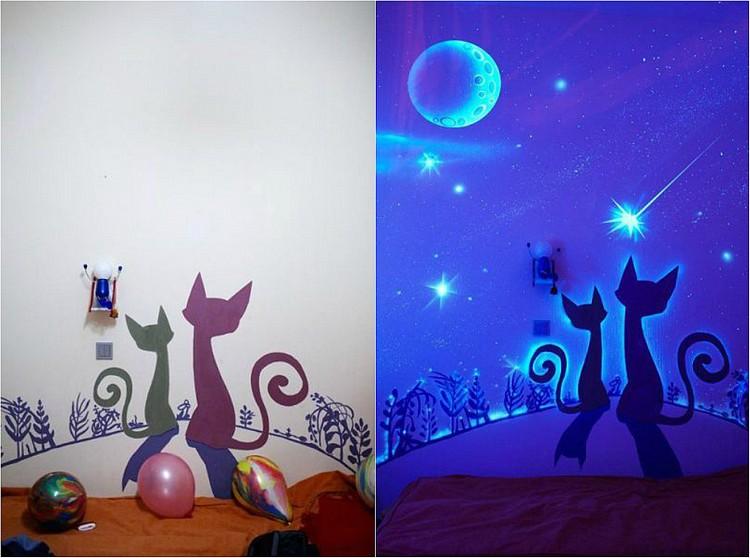 прозрачные светящиеся картинки фото детская кошки